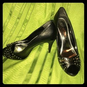 White House Black Market Studded Heels Size 6